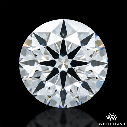 0.618 ct D VVS1 A CUT ABOVE® Hearts and Arrows Super Ideal Round Cut Loose Diamond