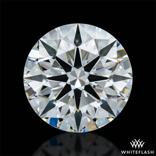0.627 ct F VVS1 A CUT ABOVE® Hearts and Arrows Super Ideal Round Cut Loose Diamond