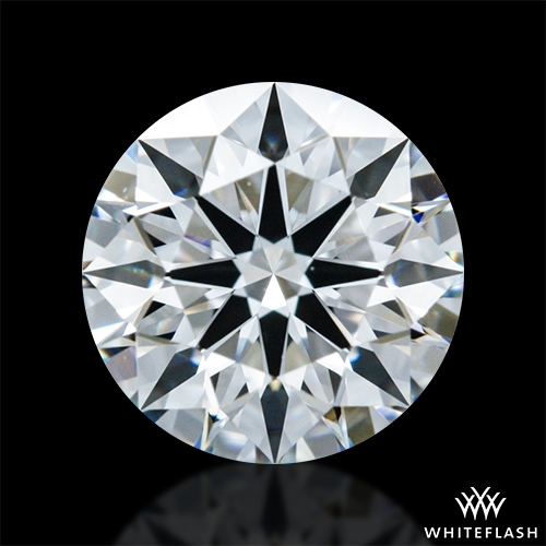 0.728 ct D VVS2 A CUT ABOVE® Hearts and Arrows Super Ideal Round Cut Loose Diamond