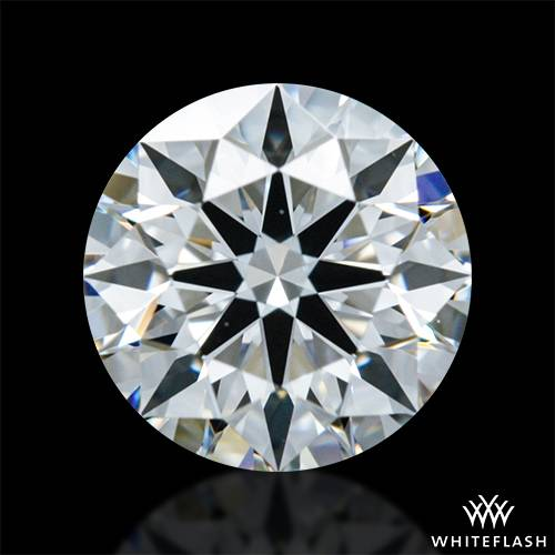 0.726 ct F VVS1 A CUT ABOVE® Hearts and Arrows Super Ideal Round Cut Loose Diamond