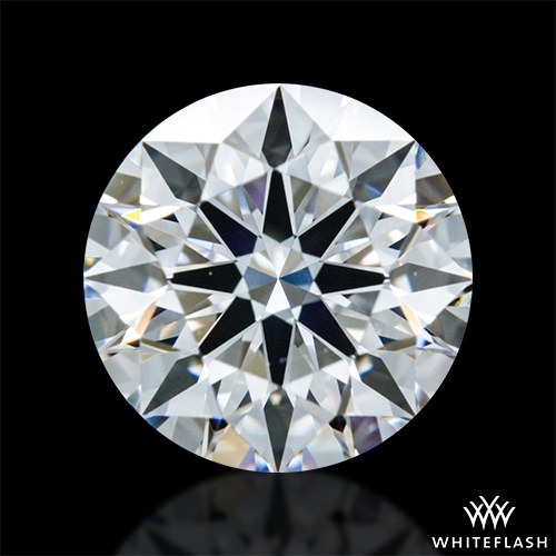 0.917 ct E VVS2 A CUT ABOVE® Hearts and Arrows Super Ideal Round Cut Loose Diamond