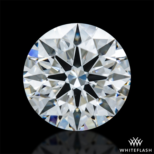1.014 ct E VVS1 A CUT ABOVE® Hearts and Arrows Super Ideal Round Cut Loose Diamond