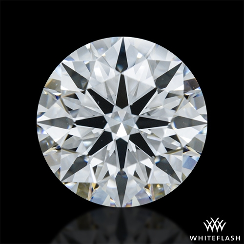 1.365 ct E VS1 A CUT ABOVE® Hearts and Arrows Super Ideal Round Cut Loose Diamond
