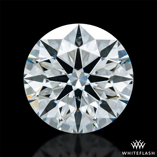 1.612 ct H VS2 A CUT ABOVE® Hearts and Arrows Super Ideal Round Cut Loose Diamond