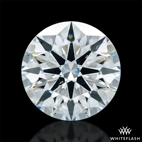 1.821 ct H SI1 A CUT ABOVE® Hearts and Arrows Super Ideal Round Cut Loose Diamond