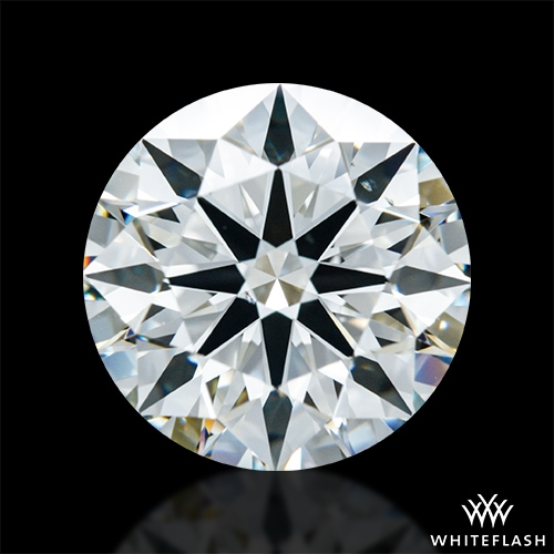 2.524 ct J VS2 A CUT ABOVE® Hearts and Arrows Super Ideal Round Cut Loose Diamond