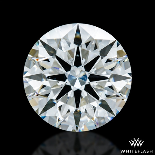 1.588 ct H SI1 A CUT ABOVE® Hearts and Arrows Super Ideal Round Cut Loose Diamond