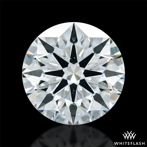 1.018 ct H SI1 A CUT ABOVE® Hearts and Arrows Super Ideal Round Cut Loose Diamond