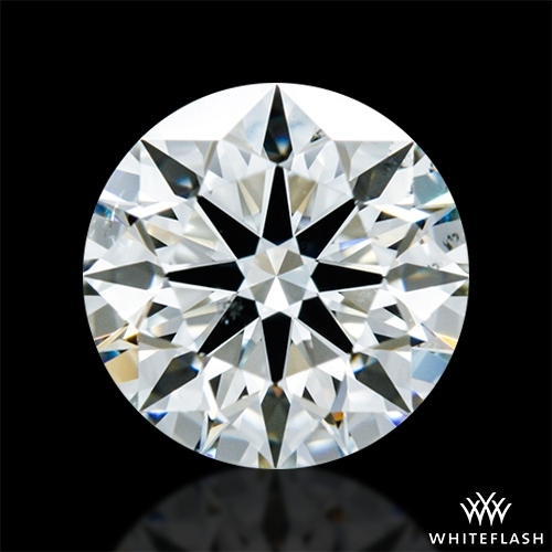 1.018 ct J SI1 A CUT ABOVE® Hearts and Arrows Super Ideal Round Cut Loose Diamond