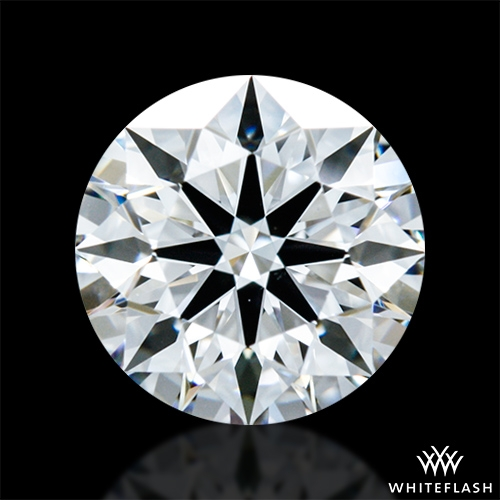 0.81 ct E VS2 A CUT ABOVE® Hearts and Arrows Super Ideal Round Cut Loose Diamond