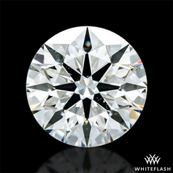 0.803 ct J VS2 A CUT ABOVE® Hearts and Arrows Super Ideal Round Cut Loose Diamond