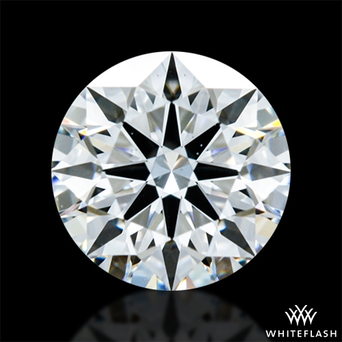 0.763 ct F VS1 A CUT ABOVE® Hearts and Arrows Super Ideal Round Cut Loose Diamond