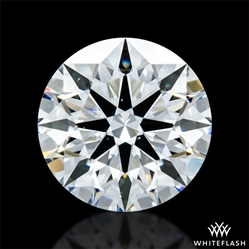 0.762 ct F VS2 A CUT ABOVE® Hearts and Arrows Super Ideal Round Cut Loose Diamond