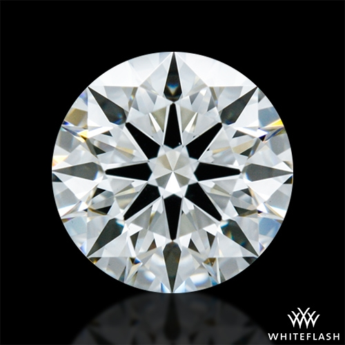 0.621 ct I VS1 A CUT ABOVE® Hearts and Arrows Super Ideal Round Cut Loose Diamond
