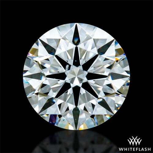0.401 ct H VS2 A CUT ABOVE® Hearts and Arrows Super Ideal Round Cut Loose Diamond