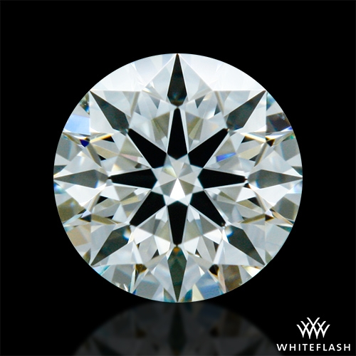0.318 ct K VS2 A CUT ABOVE® Hearts and Arrows Super Ideal Round Cut Loose Diamond