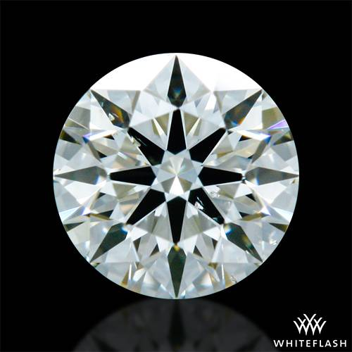0.313 ct K SI1 A CUT ABOVE® Hearts and Arrows Super Ideal Round Cut Loose Diamond
