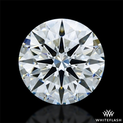 3.546 ct I VS1 A CUT ABOVE® Hearts and Arrows Super Ideal Round Cut Loose Diamond