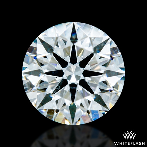 0.724 ct F SI1 A CUT ABOVE® Hearts and Arrows Super Ideal Round Cut Loose Diamond