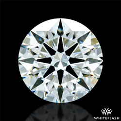 0.727 ct I VS1 A CUT ABOVE® Hearts and Arrows Super Ideal Round Cut Loose Diamond