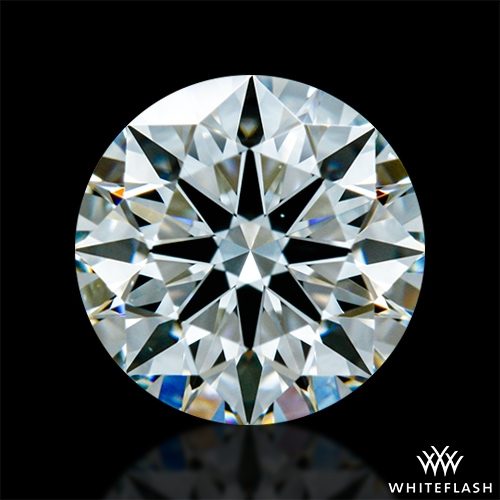 0.71 ct H VS2 A CUT ABOVE® Hearts and Arrows Super Ideal Round Cut Loose Diamond