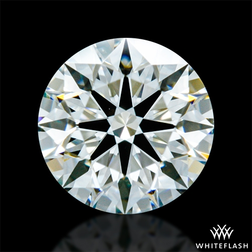 0.712 ct I VS1 A CUT ABOVE® Hearts and Arrows Super Ideal Round Cut Loose Diamond