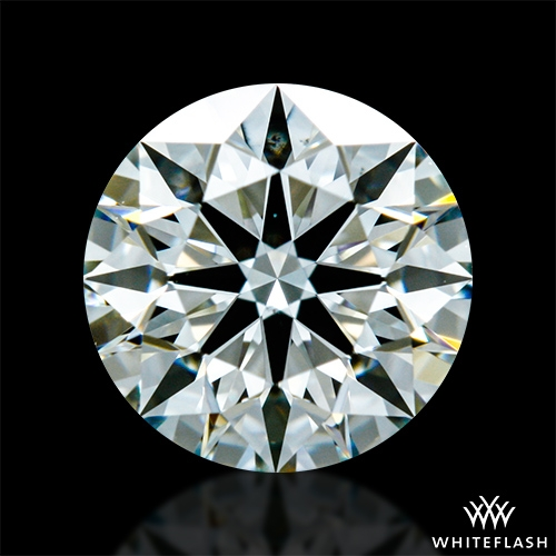 0.743 ct I VS2 A CUT ABOVE® Hearts and Arrows Super Ideal Round Cut Loose Diamond