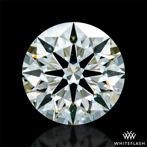 0.707 ct K VS2 A CUT ABOVE® Hearts and Arrows Super Ideal Round Cut Loose Diamond