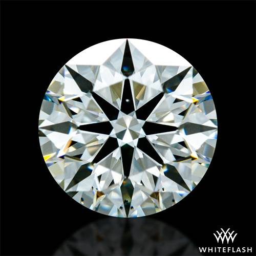 0.731 ct K VS2 A CUT ABOVE® Hearts and Arrows Super Ideal Round Cut Loose Diamond