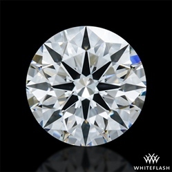 1.107 ct F VS1 A CUT ABOVE® Hearts and Arrows Super Ideal Round Cut Loose Diamond