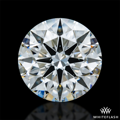 1.098 ct F VS2 A CUT ABOVE® Hearts and Arrows Super Ideal Round Cut Loose Diamond