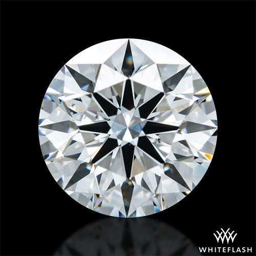 1.321 ct F VS2 A CUT ABOVE® Hearts and Arrows Super Ideal Round Cut Loose Diamond