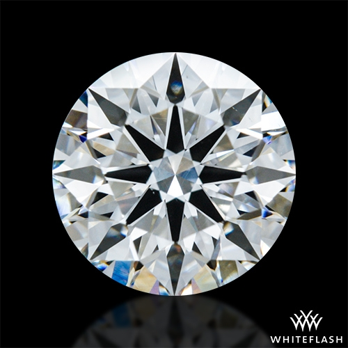 1.386 ct F VS1 A CUT ABOVE® Hearts and Arrows Super Ideal Round Cut Loose Diamond