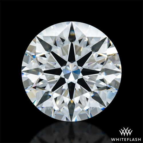 1.704 ct F VS1 A CUT ABOVE® Hearts and Arrows Super Ideal Round Cut Loose Diamond