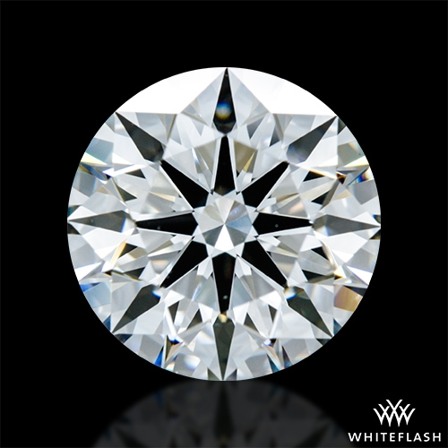 2.081 ct F VS1 A CUT ABOVE® Hearts and Arrows Super Ideal Round Cut Loose Diamond