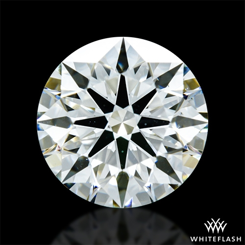 1.151 ct J VS2 A CUT ABOVE® Hearts and Arrows Super Ideal Round Cut Loose Diamond