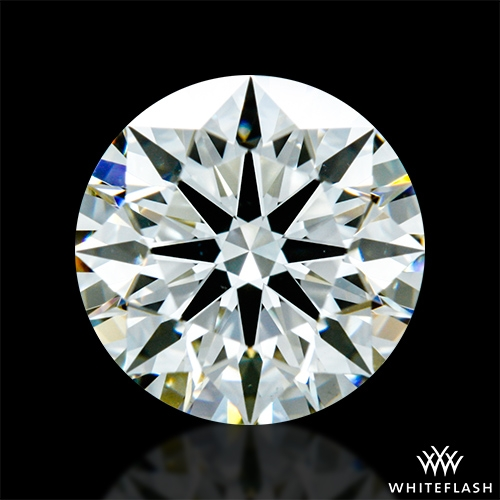 1.153 ct J VS2 A CUT ABOVE® Hearts and Arrows Super Ideal Round Cut Loose Diamond