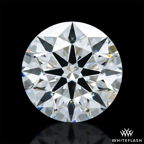0.632 ct F VVS2 A CUT ABOVE® Hearts and Arrows Super Ideal Round Cut Loose Diamond