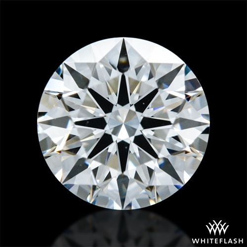 0.614 ct E VVS2 A CUT ABOVE® Hearts and Arrows Super Ideal Round Cut Loose Diamond