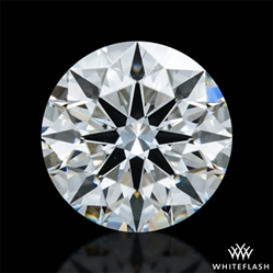 0.601 ct F VS1 A CUT ABOVE® Hearts and Arrows Super Ideal Round Cut Loose Diamond