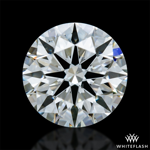 0.611 ct G VS2 A CUT ABOVE® Hearts and Arrows Super Ideal Round Cut Loose Diamond