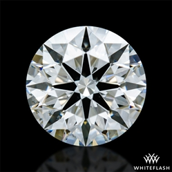 0.602 ct H VS2 A CUT ABOVE® Hearts and Arrows Super Ideal Round Cut Loose Diamond
