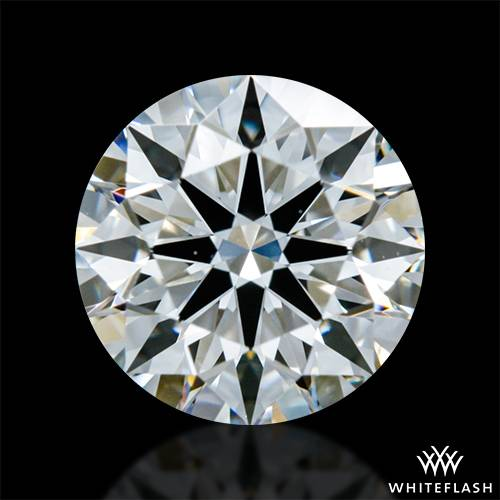 0.738 ct F VS1 A CUT ABOVE® Hearts and Arrows Super Ideal Round Cut Loose Diamond