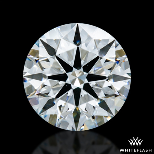 0.832 ct F VS1 A CUT ABOVE® Hearts and Arrows Super Ideal Round Cut Loose Diamond