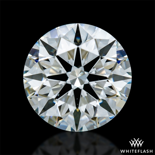 0.705 ct H VS1 A CUT ABOVE® Hearts and Arrows Super Ideal Round Cut Loose Diamond