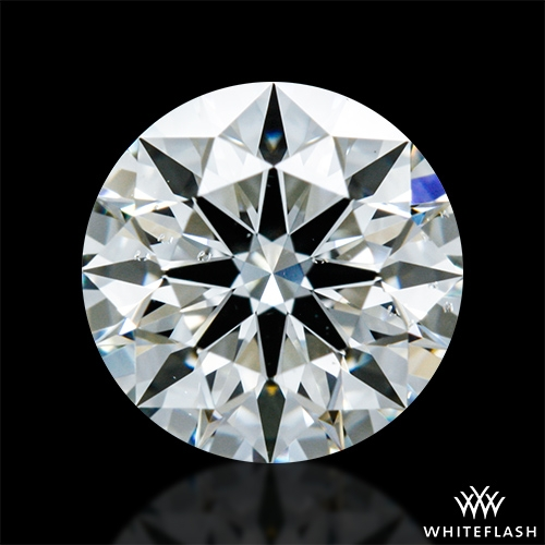 0.715 ct H SI1 A CUT ABOVE® Hearts and Arrows Super Ideal Round Cut Loose Diamond