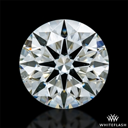 0.772 ct I SI1 A CUT ABOVE® Hearts and Arrows Super Ideal Round Cut Loose Diamond