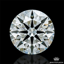 0.758 ct J VS1 A CUT ABOVE® Hearts and Arrows Super Ideal Round Cut Loose Diamond
