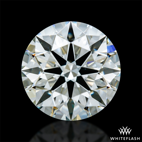 0.708 ct J VS2 A CUT ABOVE® Hearts and Arrows Super Ideal Round Cut Loose Diamond