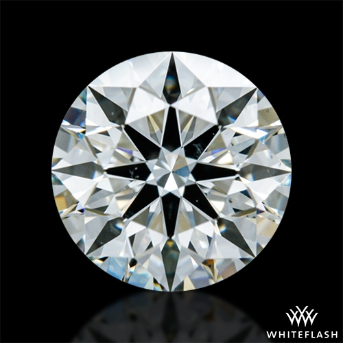 0.702 ct J VS2 A CUT ABOVE® Hearts and Arrows Super Ideal Round Cut Loose Diamond